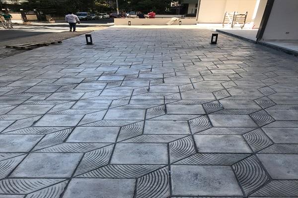 Baskı beton