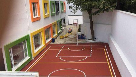 Basketbol Sahası Zemin Kaplama